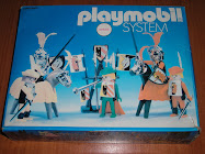 PLAYMOBIL SYSTEM JUSTA MEDIEVAL.