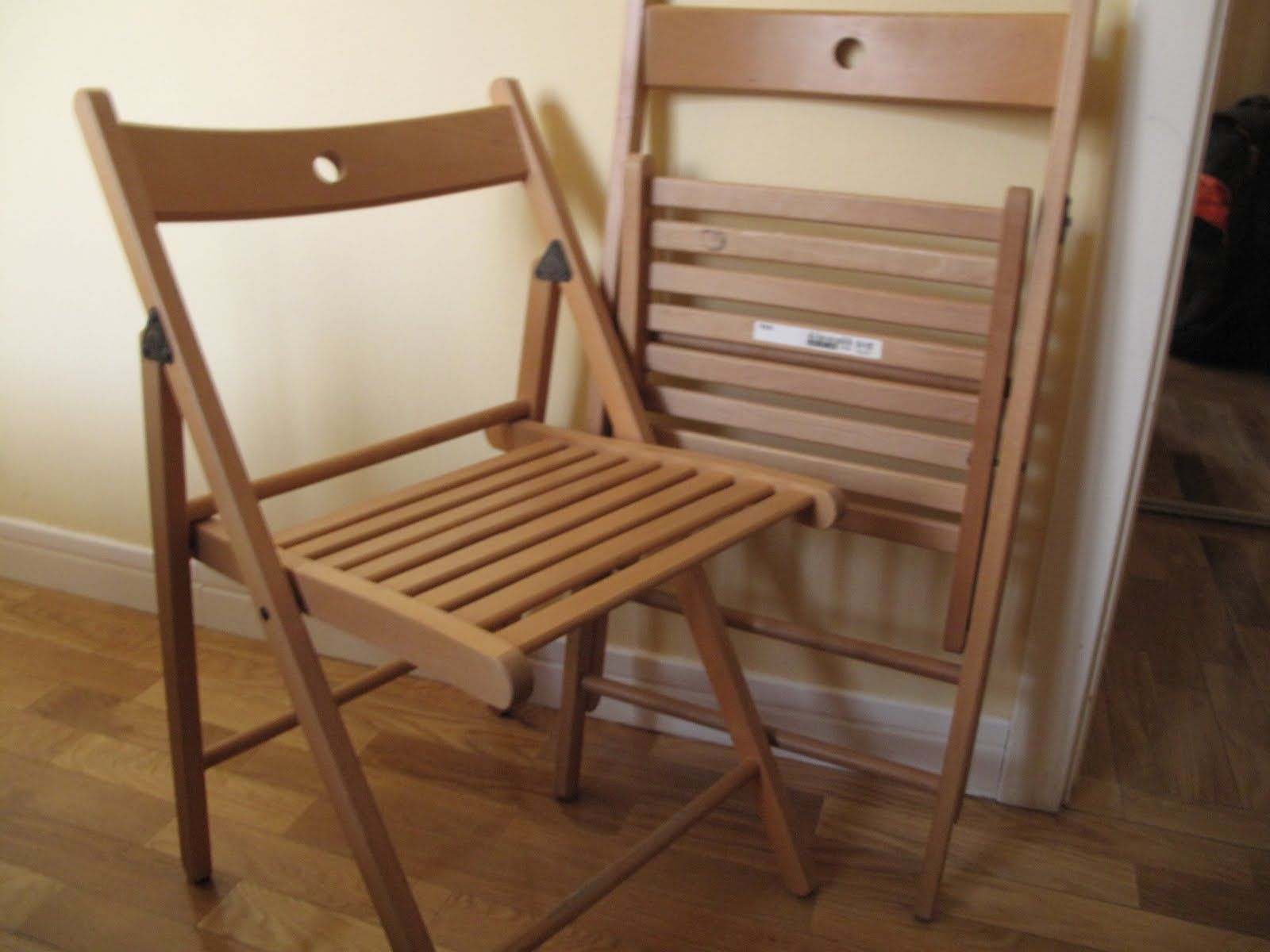 Venta de muebles en madrid sillas plegables for Sillas plegables ikea
