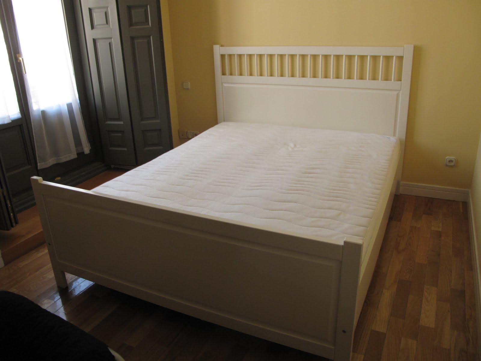 Venta de muebles en madrid cama doble - Cama doble ikea ...