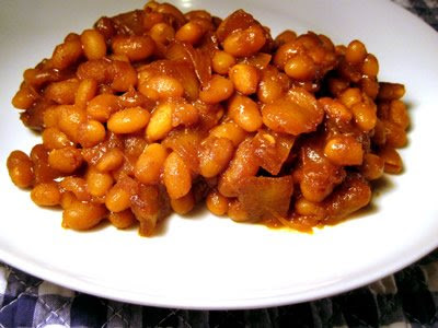 Vegetarian Molasses Baked Beans