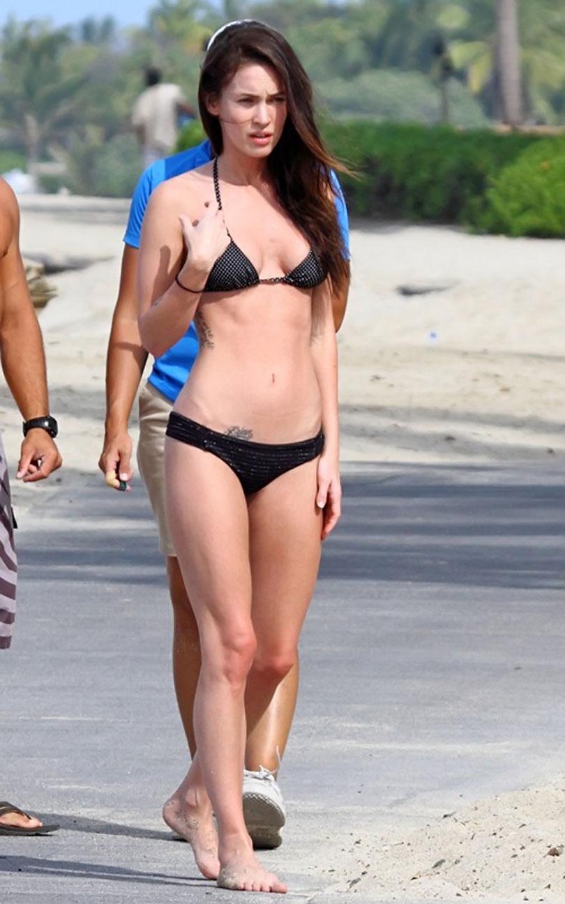 Frenzy Megan Fox Bikini Candids In Hawaii