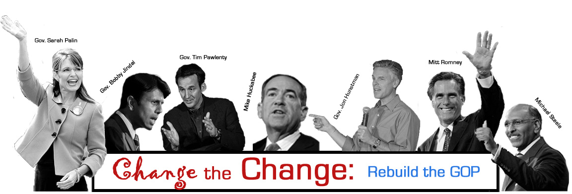 Change the Change: Rebuild the GOP