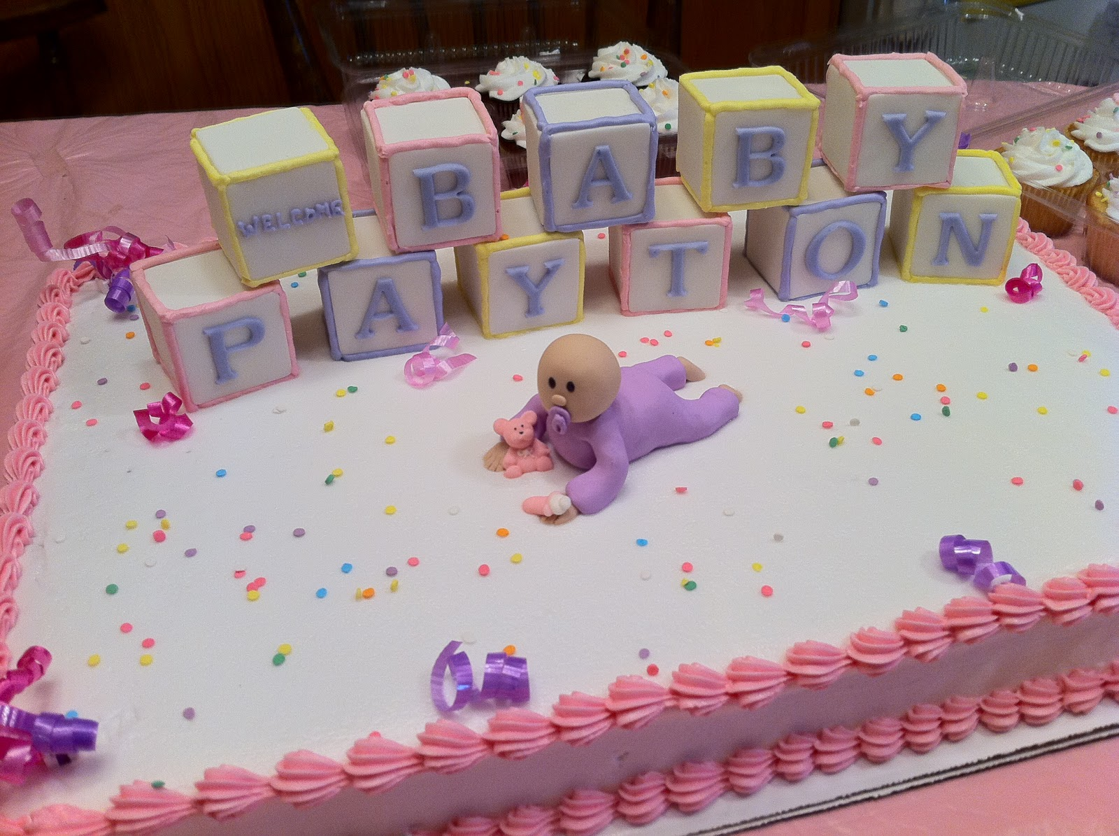 Simple Cake Designs For Baby Girl : 30 Staggering Pictures of Baby Shower Cakes - SloDive