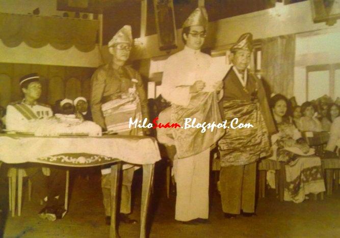 Gambar Najib Razak semasa muda