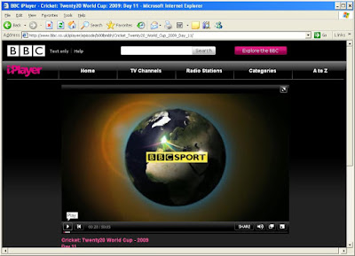 BBC Iplayer using Proxy