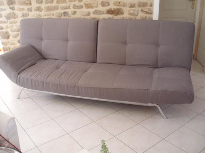 superbe canap cinna smala. Black Bedroom Furniture Sets. Home Design Ideas