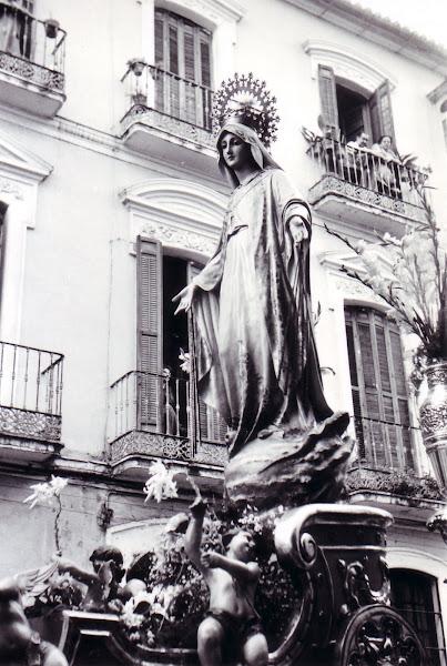 PROCESIÓN DE NUESTRA SEÑORA DE LA MEDALLA MILAGROSA DE MÁLAGA (1964)