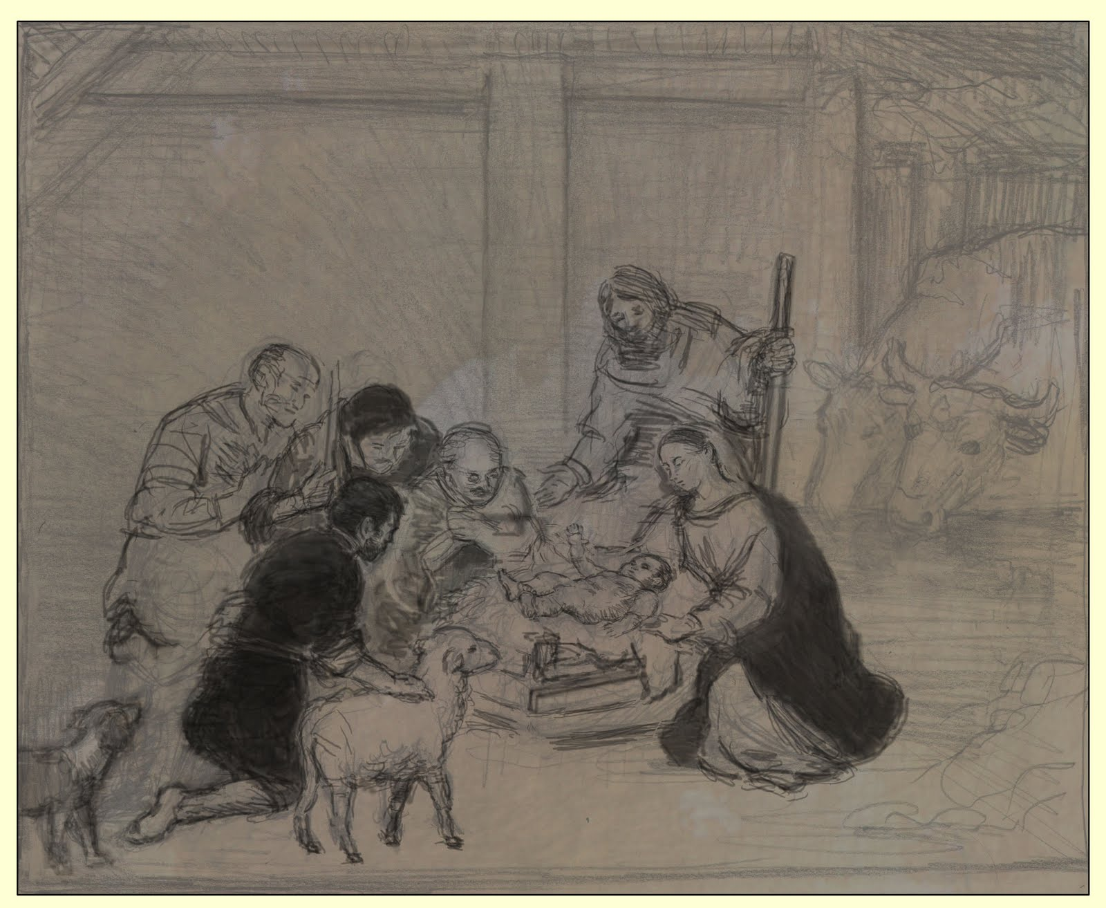 Classic Nativity Paintings Nativity