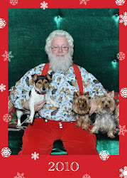 Our Dogs Visit Santa