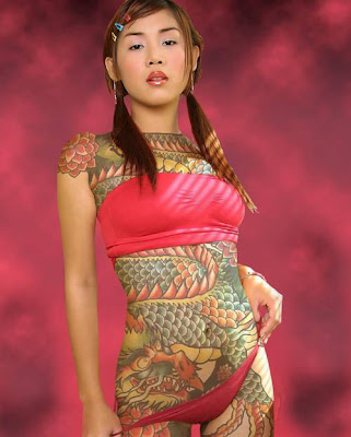 Updated on MFS - Strange But True - People 11 . Japanese body tattoos and
