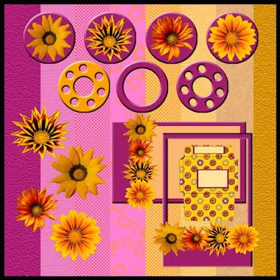 http://foralfy.blogspot.com/2009/05/sunny-flowers-freebie-kit.html