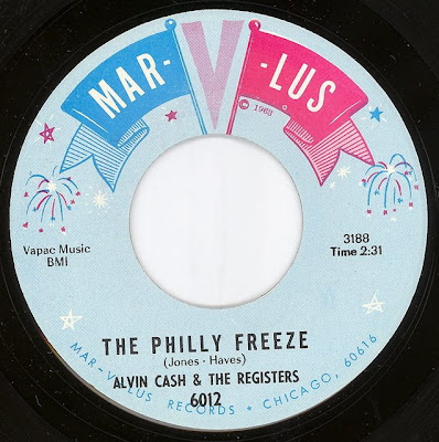 Alvin Cash The Registers The Philly Freeze