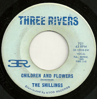 Cover Album of The Shillings -  Children And Flowers - Lying And Trying