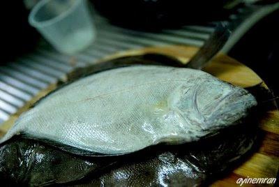Ikan Sebelah dengan Sos Kuning
