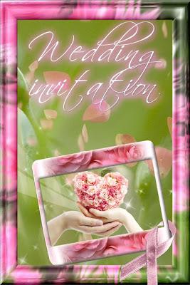 Cards: Wedding invitation