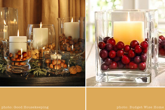 Diy thanksgiving centerpieces nikkidesigns