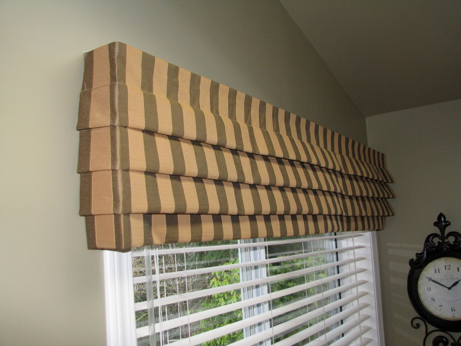 How To Make Mock Roman Valances Nikkidesigns