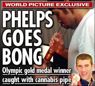 phelps marijuana Michael
