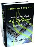Produk 04 - Buku Panduan Lengkap Mencari Ayat Quran Berdasarkan Kata Dasar.