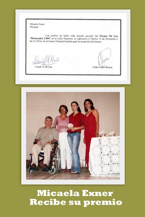 """PREMIOS VIDEOCABLE MI LUZ """"DESTACADOS 2004"""" 14/12/2004"""