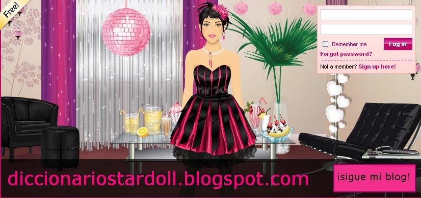Diccionario Stardoll