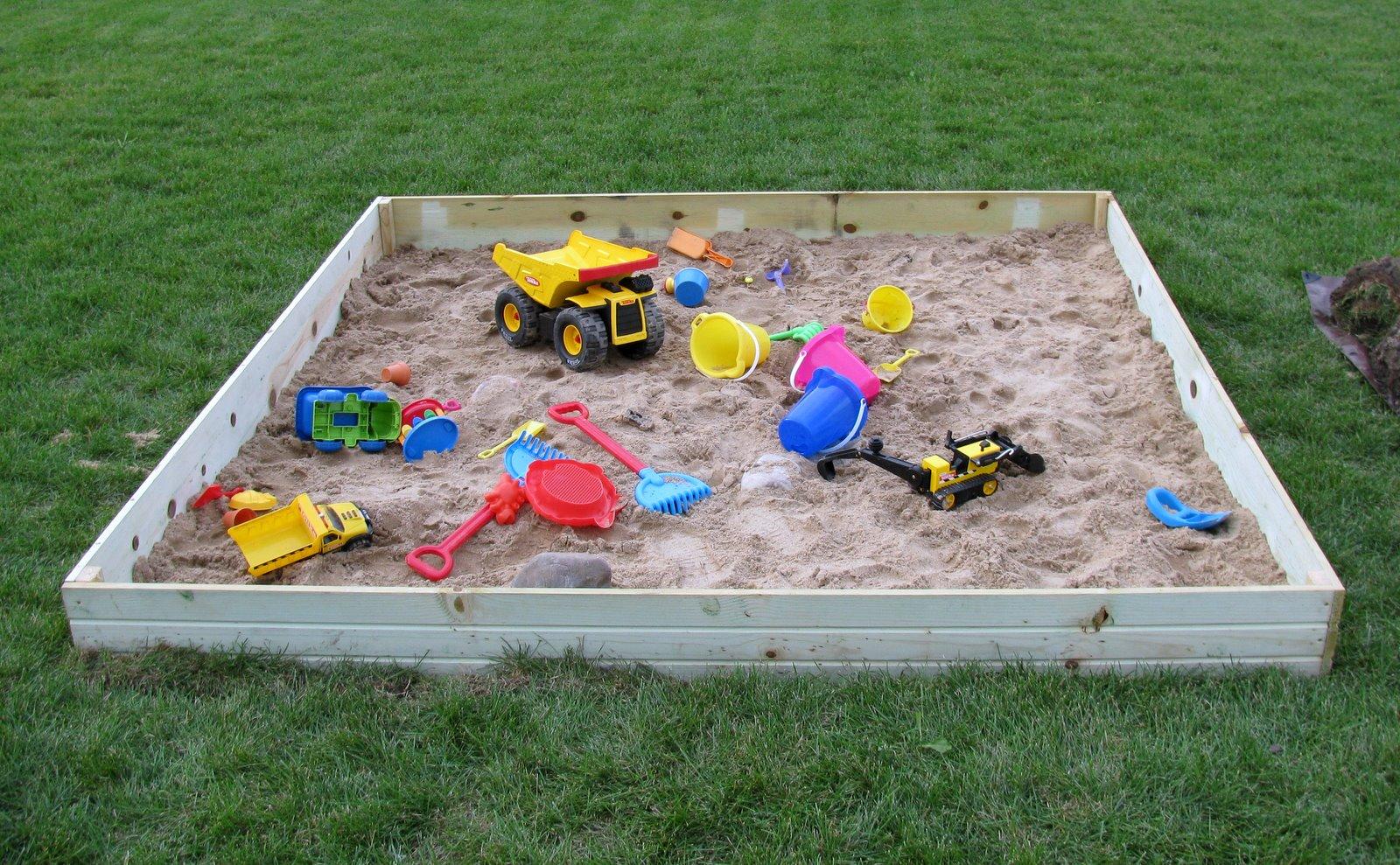 Friedel Kids: New Sandbox!