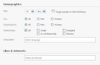 pasang iklan di facebook untuk menjangkau pengguna yang tepat