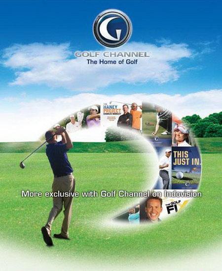 Saluran olahraga eksklusif terbaru 24 Jam Golf Channel, dapat dinikmati hanya di Indovision.