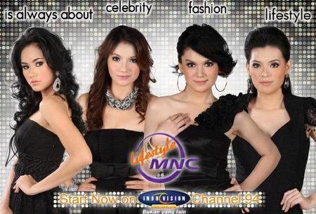 Daftar acara MNC Lifestyle di Indovision.