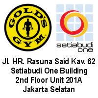 Gold's Gym kini hadir di Setiabudi One Building.
