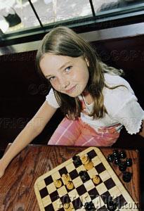 alunas e alunos de xadrez.