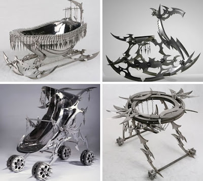 Iron And Creative Sculptures