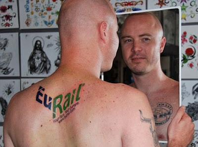 Australian Man Get Tattooed To Win Parents Free Europe Holiday
