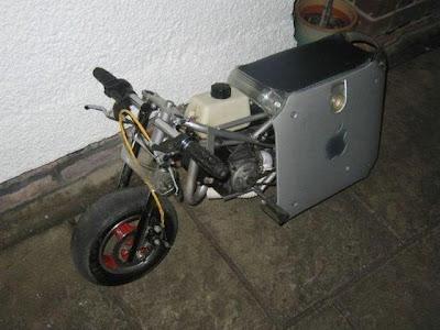 Unusual Custom Made Mac Bike