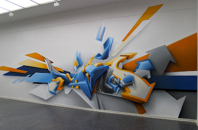 Really Impressive 3D Graffiti Artworks