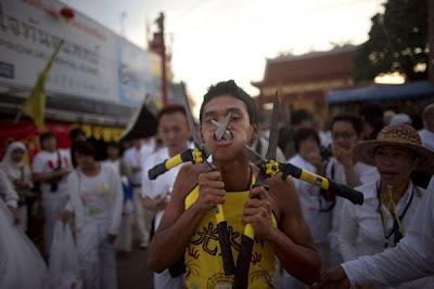 Piercing Festival In Thailand