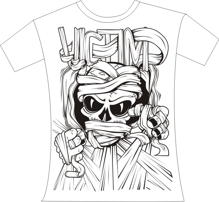 design kaos distro - Graffiti Graffiti