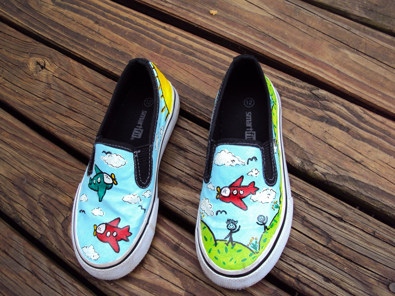 sweet issues favola shoes painted shoes