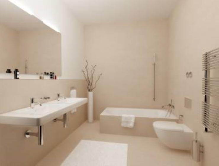 And with a big modern bathroom  Ami in Munich Dreaming of a Wunder Wohnung. Pawson Bathroom