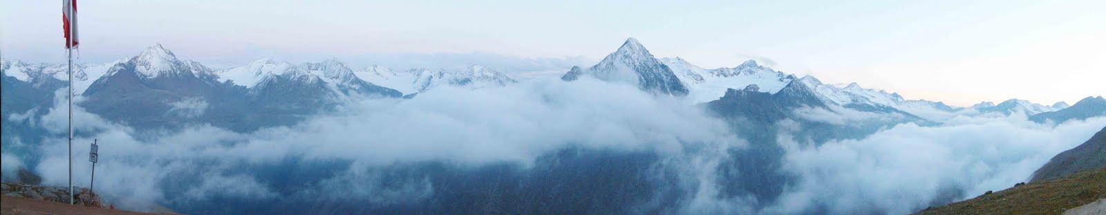 panorama ötztaler alpen von der breslauer hütte (vent)
