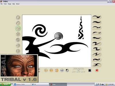 Tribal tattoo designer 1.6 portable free download