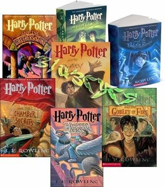 harry potter books images. Harry Potter is a series of