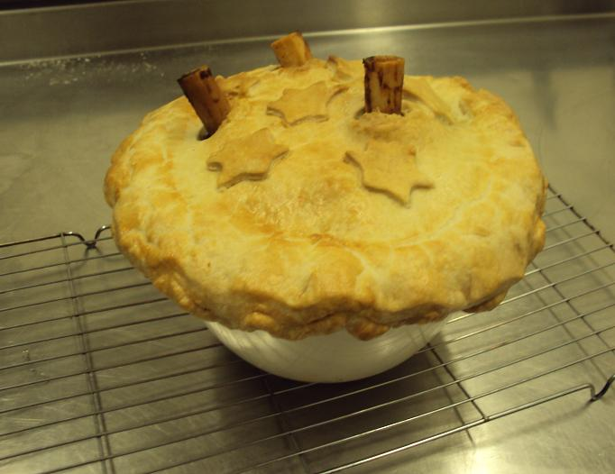 The Cotswold food year: Lamb shank 'stargazy' pie