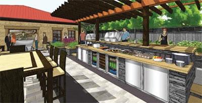 Outdoor Kitchens Blog Kalamazoo Outdoor Gourmet Announces 2009 Oasis Award Winner
