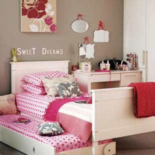 decoração de quarto para meninas