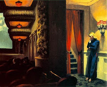 Everything I know about the movies I learned from Edward Hopper...