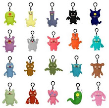 Mini-Teen's Keyrings