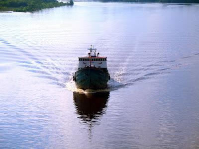 Afternoon Sailing - Sungai Siak