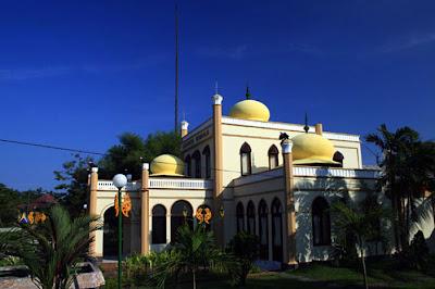 Istana Siak's Miniature