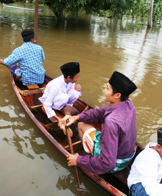 Banjir di Buluhcina Riau